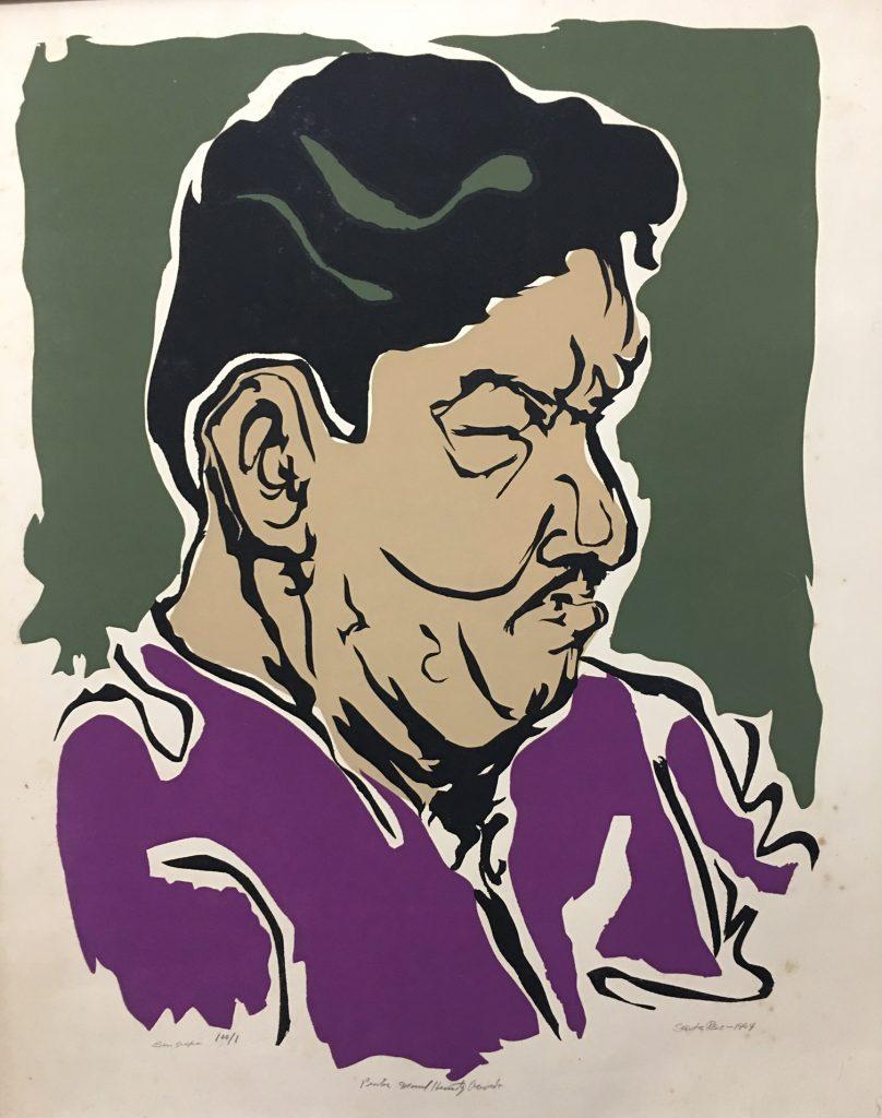 Santos Rene: Poster of Manuel Hernandez