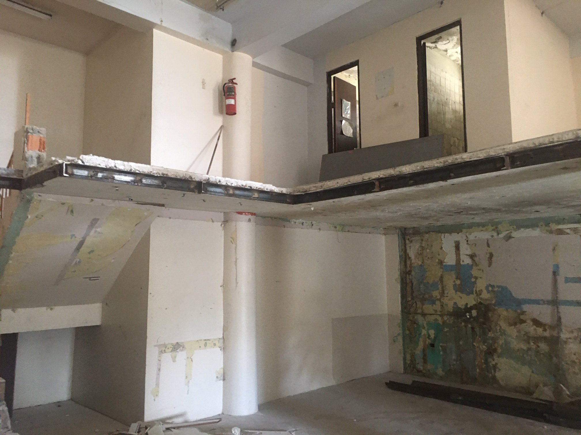 Initial renovation restored the classic  mezzanine.