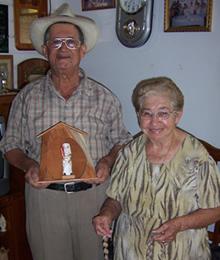 Julio Negrón Rivera y su esposa Doña Mercedes