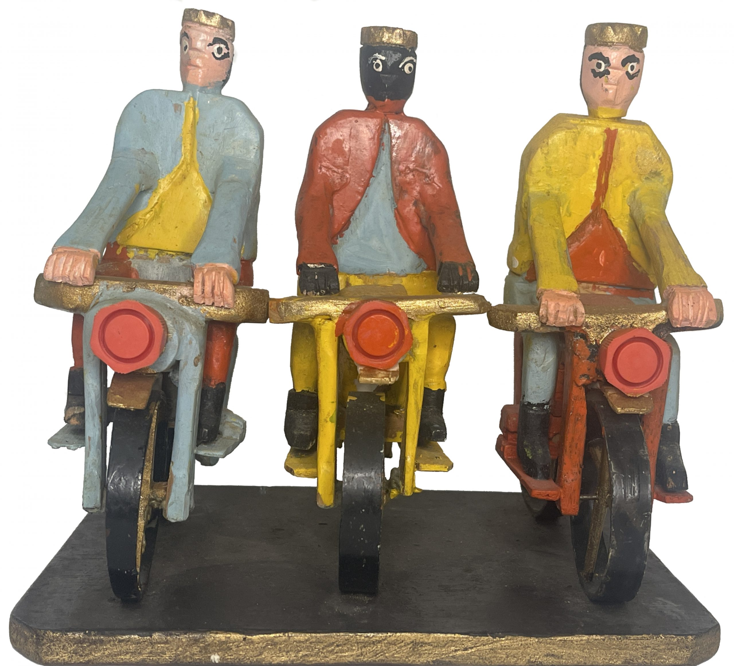 Tres Reyes con Motoras, Joaquin Hernandez 1980